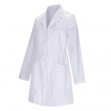 WORK LAB COAT LAPEL COLLAR LONG SLEEVES Medical Uniforms Scrub Top Ref-8163