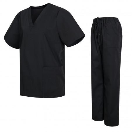 Uniformi Unisex Set Camice – Uniforme Medica con Maglia e Pantaloni Uniformi Mediche Camice Uniformi sanitarie  - Ref.81782