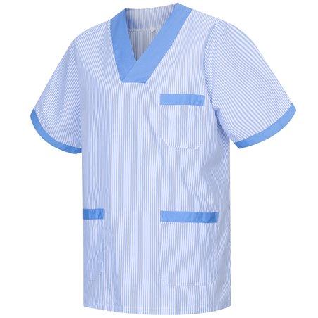 Blouses stérilisées Vêtements de travail et uniformes Médical MANCHES COURTES UNIFORME CLINIQUE HÔPITAL - Ref: T817